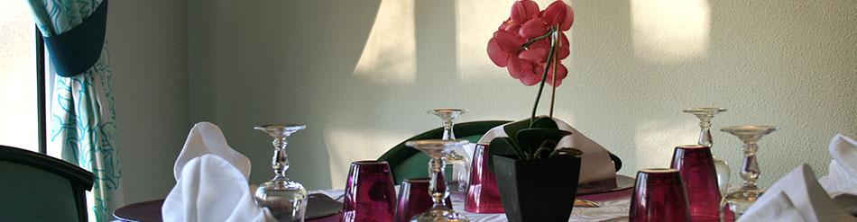 restaurant salle réception famille amis mariage fête ensemble exception