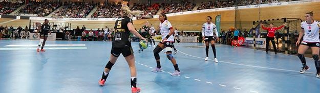 Coupe d'Europe de Handball féminin au Vélodrome