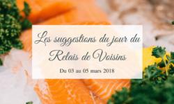 03 au 05 avril : les suggestions du Relais de Voisins