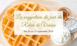 10 au 13 septembre : les suggestions du Relais de Voisins